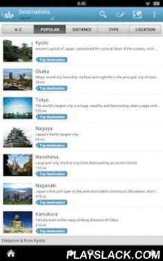 Japan Travel Guide By Triposo  Android App - playslack.com , Features of Triposo's guide to Japan Travel:★ Suggestions of what's interesting to see and do in Japan Travel, depending on time, weather and your location;★ A detailed sights section with all the monuments of Tokyo, Kyoto, Osaka, Nagoya;★ Eating out section with the best restaurants in Tokyo, Kyoto, Osaka, Nagoya;★ Discover the nightlife of Japan Travel! Bars, pubs & disco's in Tokyo, Kyoto, Osaka, Nagoya;★ Book hotels in…