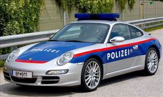 Exotic Police Cars: Germany & Austria Porsche 911