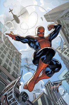 Spiderman, por Terry Dodson