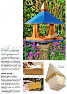 DIY Bird Feeder - Outdoor Plans