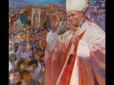 Pope John Paul II singing Pater Noster
