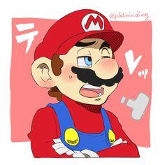 Super Mario Bros Games, Super Mario And Luigi, Super Mario Art, Super Mario Brothers, Mario Bros., Super Smash Bros, Funny Mario Videos, Mario Comics, Mario Fan Art
