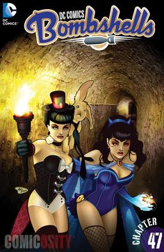 DC Comics: Bombshells Batwoman, Catwoman, Zatanna, Harley and Ivy begin to link up to work together as a rebellion, sending coordinated attacks across Germany and leading massive uprisings of refugees and citizens. Dc Comics, Comics Girls, Batwoman, Batgirl, Comic Book Characters, Comic Character, Comic Books, Female Hero, Comic Book Covers