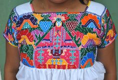 Juquila Blouse Mexico by Teyacapan, via Flickr