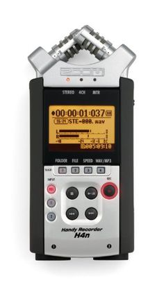 Zoom H4n Handy Portable Digital Recorder - 2009 Version, 2015 Amazon Top Rated Portable Recorders #MusicalInstruments