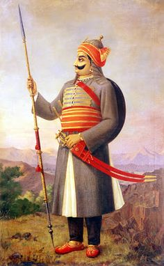 Maha Rana pratap of Mewar ,Rajputana-Never surrendered & fought Akbar, restored Indian & Rajput pride .