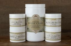All about botanical butters for skin care and body care from Mountain Rose Herbs.