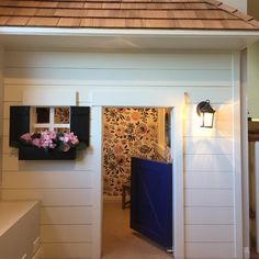 "58 Likes, 13 Comments - Cindy Hyde (@lucindahyde) on Instagram: ""Indoor playhouse wallpapered today! Cutest little house  #sandiegoproject #shareyourcwt #playhouse…"""