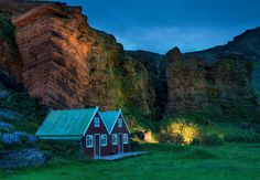 İzlanda'daki bu ufak köy