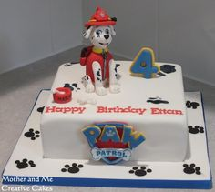 Character Cake/Paw Patrol - Cake by Mother and Me Creative Cakes