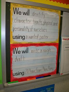 Objectives...I like how it tells the kiddos how they will utilize the content being taught