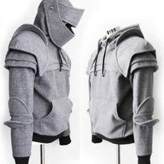 Le pull à capuche chevalier - Vêtement - CommentSeRuiner.com