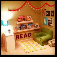Reading area ideas