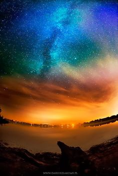 Amazing view of Milky Way