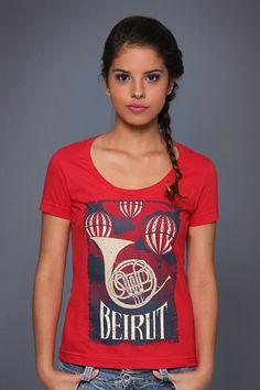 Camiseta Beirut