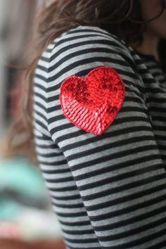 DIY valentine t
