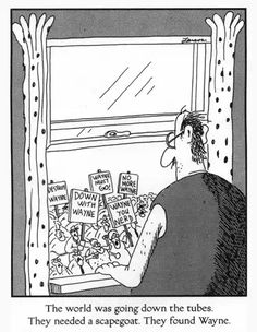 Just a few of my favorite Far Side comics. Such an underrated comic strip. - Imgur