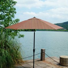 Backyard Creations Marsala 9' Umbrella at Menards