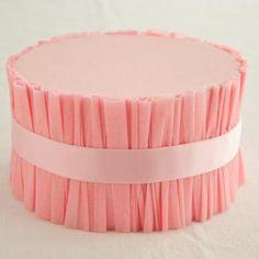 DIY:: Ruffled Cake Stand