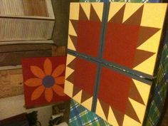 Paint your own Barn Quilt Block!