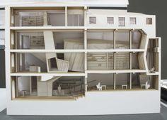 Section Model // Venice Vision 2073 // Student City // Model 1:50 | Sune Jørgensen | Royal Danish Academy of Fine Arts School of Architecture, Copenhagen