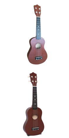 [Visit to Buy] Professional 21 Inch Acoustic Soprano Ukulele Uke Hawaii Guitar 15 Fret Ukulele Musical Instruments For Begginer Gift #Advertisement