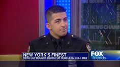 """NYPD Officer Larry DePrimo on Act of Kindness Toward Homeless Man: """"I Just Knew I Had to Help Him"""""""