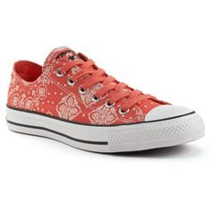 45ef4d6fe0c5 Adult Converse All Star Bandana Ox Sneakers