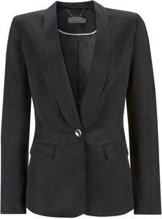 Mint Velvet Black Satin Tuxedo Jacket on shopstyle.co.uk Tuxedo Jacket, Suit Jacket, Black Singles, Black Satin, Blazers, Mint, Velvet, Glamour, Model