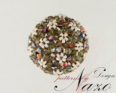 Bead Pattern - Realm of the Hills... - Beaded Pendant Necklace Tutorial