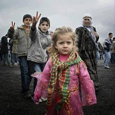 The children of Kurdistan.