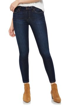 online shopping for Joe's Icon Ankle Skinny Jeans (Gianna) from top store. See new offer for Joe's Icon Ankle Skinny Jeans (Gianna) Skinny Jeans Damen, Dark Skinny Jeans, Dark Jeans, Nordstrom Anniversary Sale, Joes Jeans, Stretch Jeans, Minimalist Fashion, Capsule Wardrobe, Boyfriend Jeans