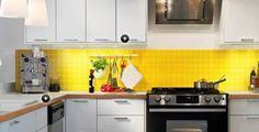 Yellow Kitchen #home #kitchen