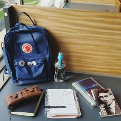 My kanken, and what's in my bag