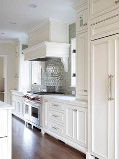 Rich Pure White Kitchen Ideas   Decozilla