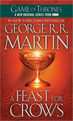 A Feast for Crows, the long-awaited fourth installment of George R. R. Martin's shelf-splitting A Song of Ice and Fire saga, continues the bloody drama of the war-torn Seven Kingdoms and the battle for the Iron Throne. With the king dead and a child on the throne, Cersei -- the Queen Regent -- must protect her son from myriad enemies vying for control of the realm. As the novel's title implies, although the War of the Five Kings is over, death and destruction are still rampant.