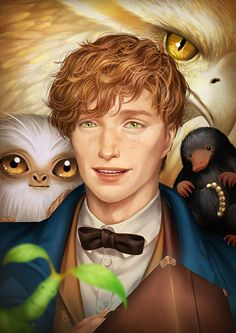 Fantastic Beasts and Where to Find Them, Esty Swandana on ArtStation at https://www.artstation.com/artwork/21Rzv