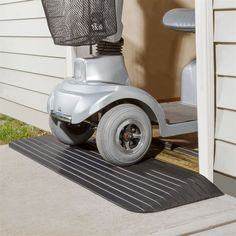 Rubber Threshold Ramp by Silver Spring | Wheelchair Ramps | DiscountRamps.com