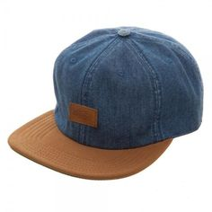 3af19f22 Dickies Blue Denim Leather Bill Slouch Snapback Hat Cap Officially Licensed  #Dickies #SlouchSnapback Colored