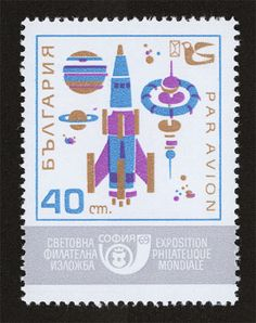 Lift off. A collection of space stamps from the Eastern Bloc.