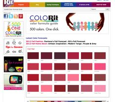 http://www.ritdye.com/colorit_color_formula_guide#color_guide=1914  Rit dye color formula guide