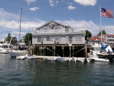 The Tugboat Inn is located on the waterfront in Boothbay Harbor, Maine. http://www.tugboatinn.com