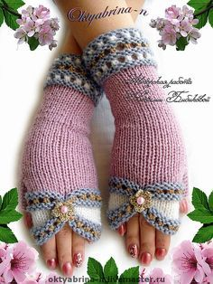 Crochet Patterns Mittens Tina's handicraft : 10 designs for gloves Crochet Gloves Pattern, Crochet Mittens, Crochet Lace, Crochet Books, Crochet Stitch, Blanket Crochet, Crochet Bikini, Knitting Stitches, Knitting Patterns