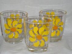 More vintage sour cream glasses