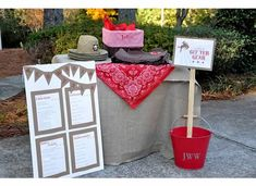 Cowboy Party {Activities and Badges} – Dixie Delights