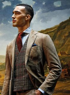 Such a dashing look! - F/W 2013/2014, Men's Fall Winter Fashion.