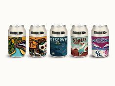 Marble Brewery - Seasonal Beers on Packaging of the World - Creative Package Design Gallery Beer Industry, Aluminum Cans, Beer Brands, Coffee Packaging, Creative Package, Bottle Design, Packaging Design Inspiration, Package Design, Craft Beer