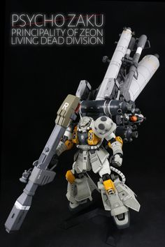 Another long weekend we have this cool MG Psycho Zaku Ver.Ka by ZKRLS . A remodeled of MG 1/100 Psycho Zaku Ver.Ka with custom colors a...