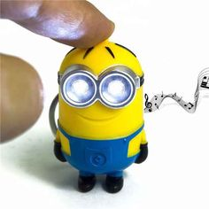 Minions Keychain With LED and Sound //Price: $6.95 & FREE Shipping //