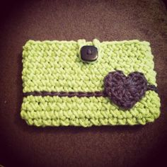 Crochet iPhone case. Many colors to choose from.. $12.00, via Etsy.